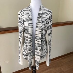 Lou & Gray Open Front Cardigan Size Medium